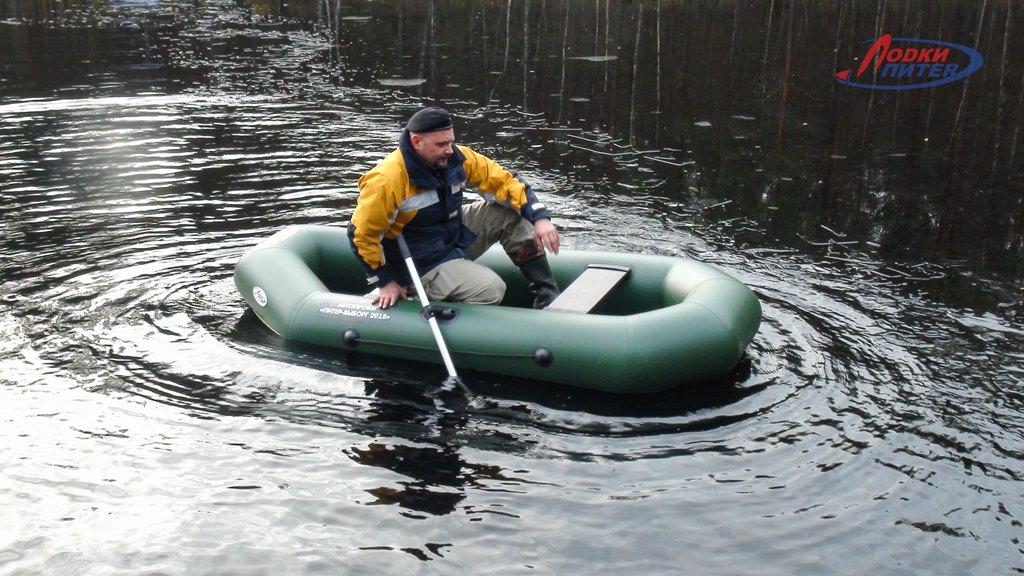 Лодка резиновая аква оптима